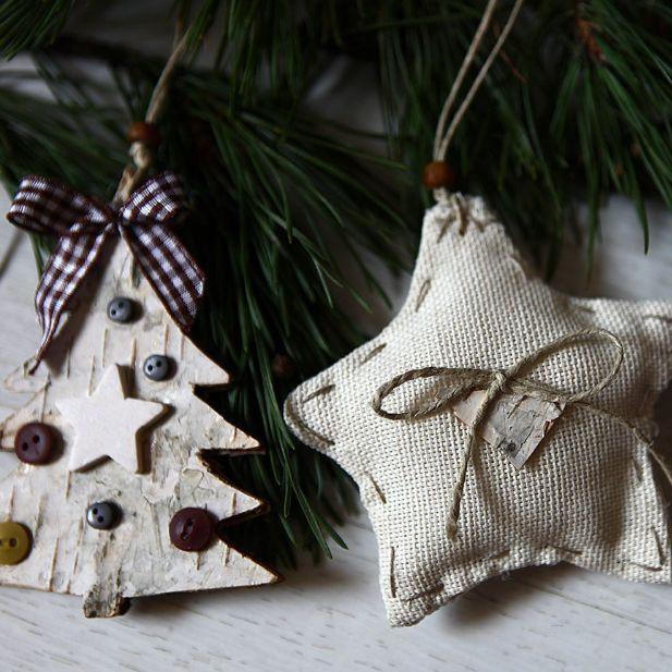 Новогодний декор и подарки из текстиля своими руками. У вас получится!
